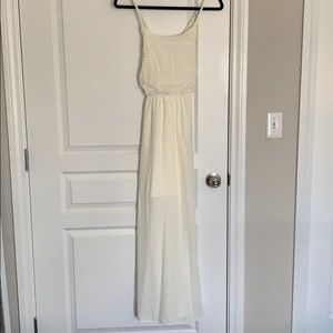 New with tags! Ivory maxi dress